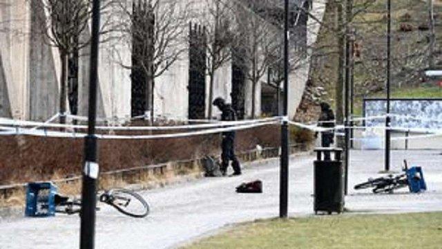 У Стокгольмі внаслідок вибуху біля станції метро постраждали двоє людей