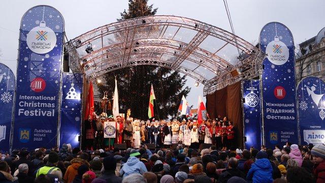 У Львові на Міжнародному різдвяному фестивалі колядують колективи із п'яти країн