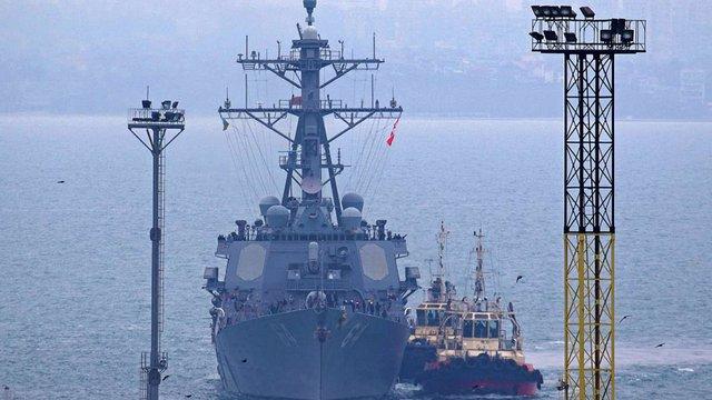 Американський есмінець USS Carney зайшов до Одеського порту