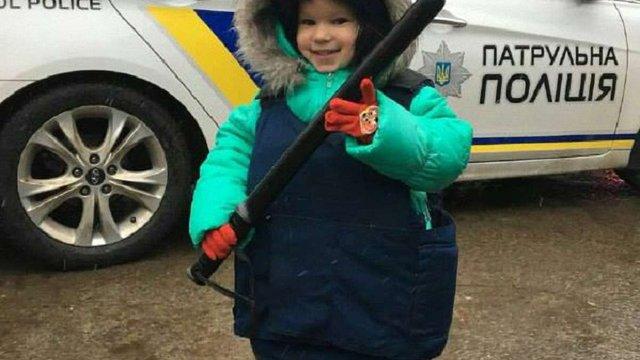 У Львові діти випробували себе у ролі патрульних поліцейських