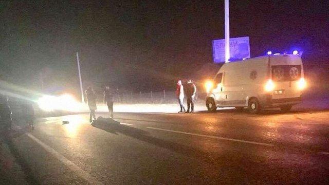На Львівщині водій Volkswagen на смерть збив 61-річну пішоходку