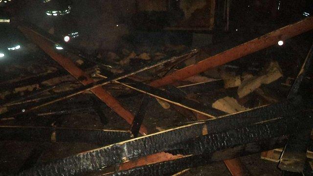 У Винниках згорів дерев'яний житловий будинок