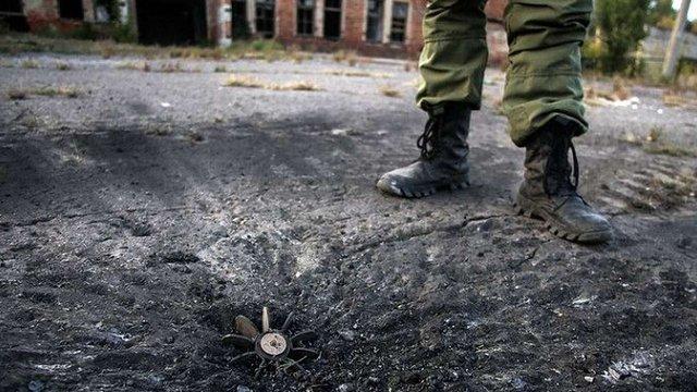 На Донбасі під час розмінування території загинув вояк ЗСУ