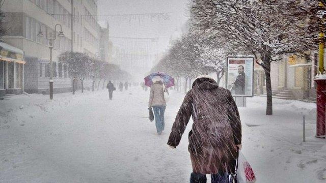 Укргідрометцентр прогнозує морози до -25°С наприкінці січня