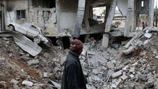 Урядові війська Асада застосували хімічну зброю біля столиці Сирії