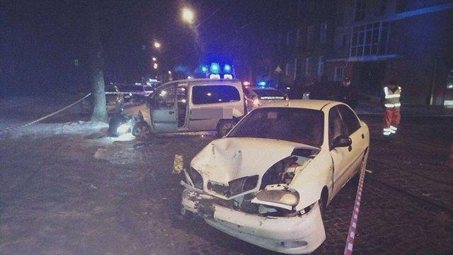 У Львові за ніч сталось три ДТП через п'яних водіїв
