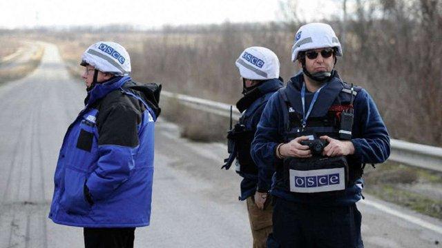 Представники ОБСЄ зафіксували нові укріплення бойовиків у зоні АТО