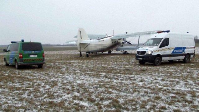 В Угорщині затримали український літак із нелегалами