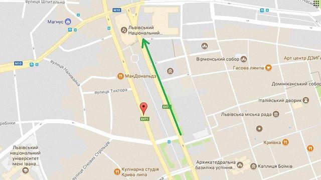 На проспекті Свободи у Львові облаштують ще одну смугу громадського транспорту