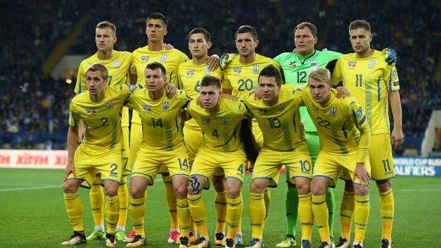 Збірна України зберегла позицію в оновленому рейтингу ФІФА