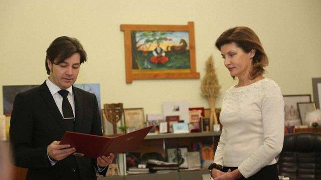 Марина Порошенко очолила Український культурний фонд