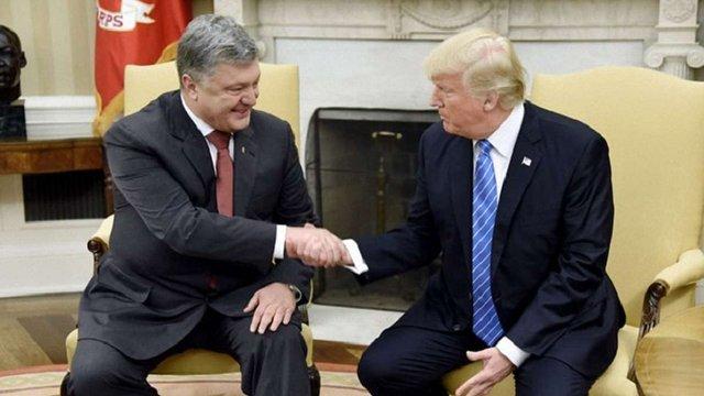 МЗС анонсувало переговори Петра Порошенка і Дональда Трампа на економічному форумі в Давосі