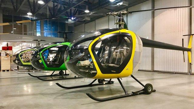 В Україні налагодили виробництво вітчизняного легкого вертольоту SL-231 Scout