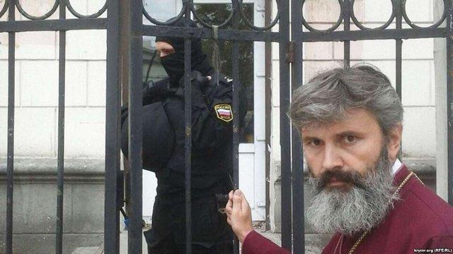 УПЦ КП оскаржує в Європейському суді напад на храм в Криму