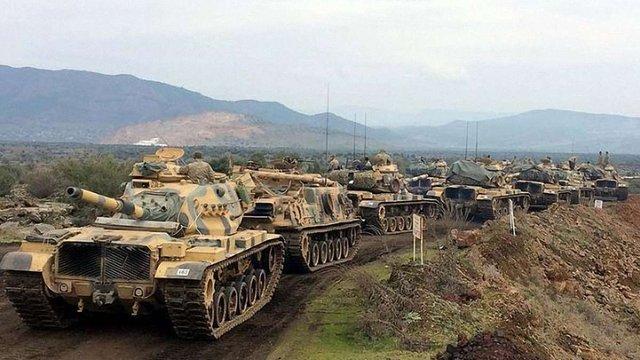 Туреччина почала військову наземну операцію на території Сирії