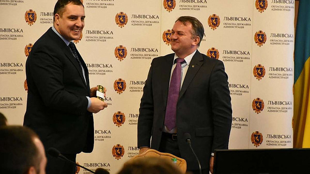 Голові Львівської облради присвоїли військове звання капітана запасу