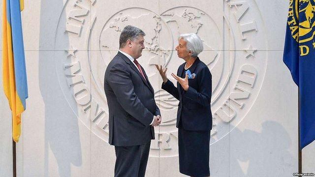 Лаґард закликала Україну скористатися сприятливою кон'юнктурою для прискорення реформ