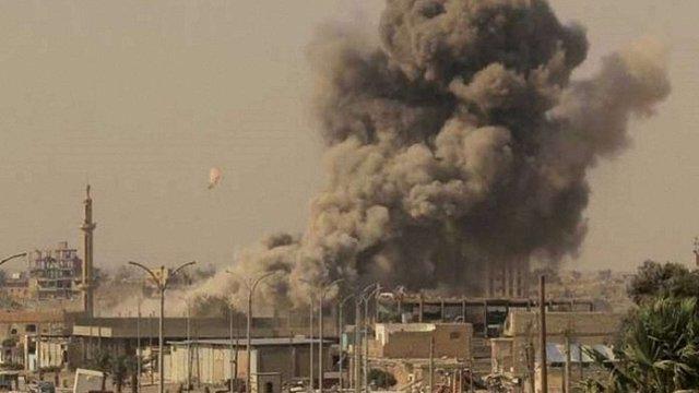 Міжнародна коаліція знищила штаб-квартиру ІДІЛ у Сирії
