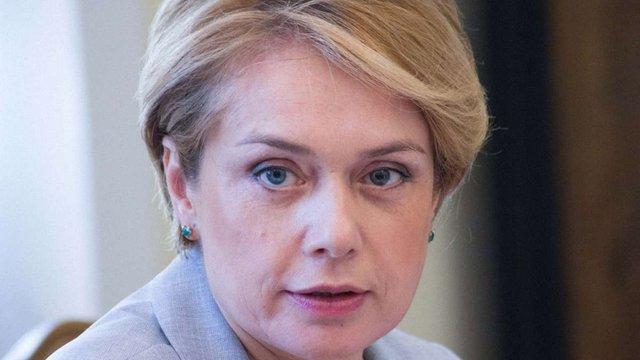 Лілія Гриневич планує переписати закон «Про вищу освіту»