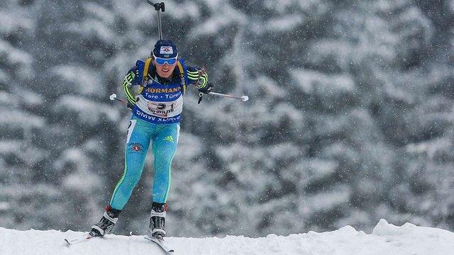 Українка Ірина Варвинець стала чемпіонкою Європи з біатлону
