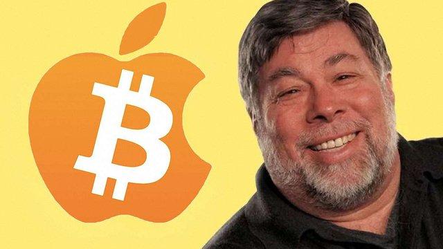 Співзасновник Apple Стів Возняк продав усі свої біткоїни