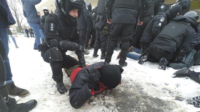 Поліція затримала кількох учасників пікету під львівським цирком