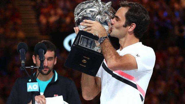 Роджер Федерер переміг у Відкритому чемпіонаті Австралії-2018 з тенісу