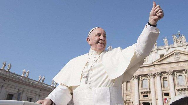 Зустріч Папи Римського Франциска із українськими вірянами у Римі. Онлайн-трансляція