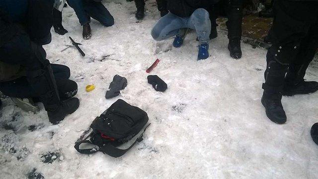 У поліції розповіли про причини затримання пікетувальників під львівським цирком