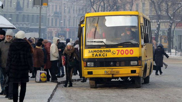 Депутати міськради розглянуть петицію про відмову від маршруток у Львові