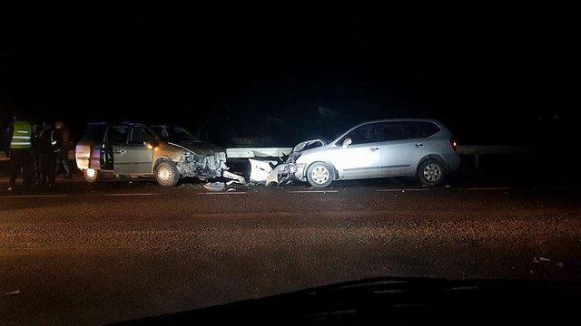 Унаслідок ДТП на Жовківщині постраждали дві людини