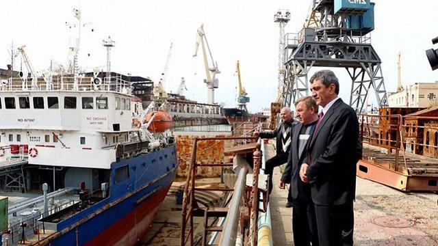 Росія націоналізувала завод Петра Порошенка в окупованому Севастополі