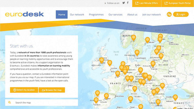 В Україні відкривається офіс європейської молодіжної організації Eurodesk