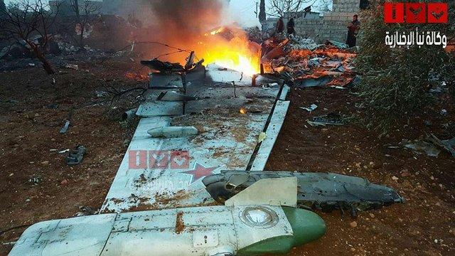 Сирійські повстанці збили російський штурмовик Су-25