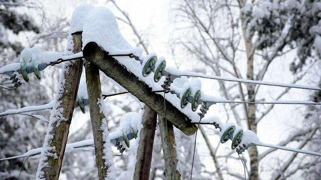 Снігопади знеструмили 394 поселень в Україні. Більшість із них –на Львівщині
