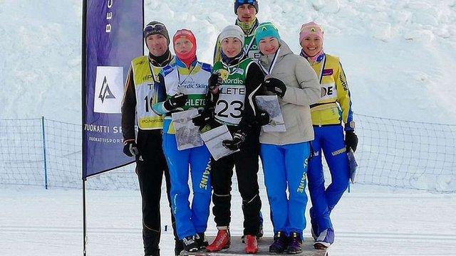 Українські паралімпійці здобули вісім нагород на етапі Кубка світу з біатлону