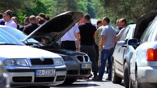 Понад 246 тис. автомобілів з іноземною реєстрацією перебувають в Україні незаконно