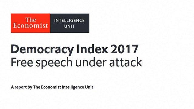 Україну віднесли до «гібридного режиму» у рейтингу світових демократій