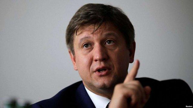 ДФС нарахувала міністрові фінансів Данилюку ₴517 тис. податків