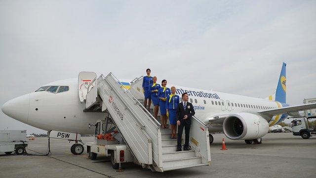 МАУ назвали причину аварійного приземлення українського літака у Тбілісі