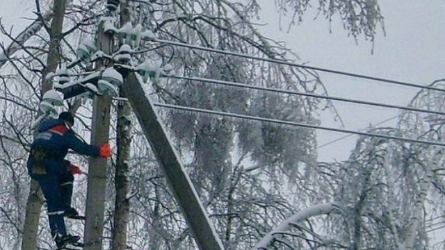 На Львівщині 65 населених пунктів залишаються без електропостачання після снігопаду
