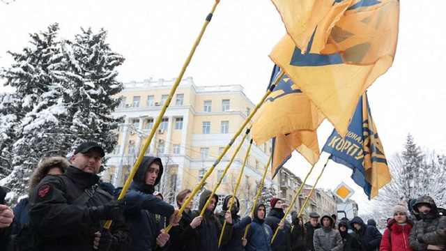 «Свобода» і «Нацкорпус» пікетували польське консульство у Львові