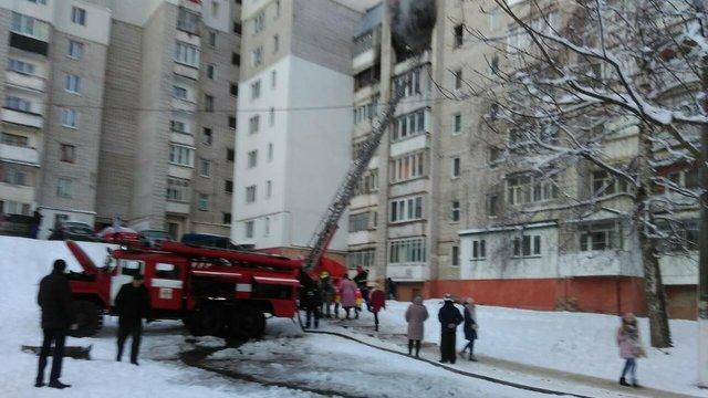 Під час пожежі у квартирі в Новояворівську загинули двоє людей