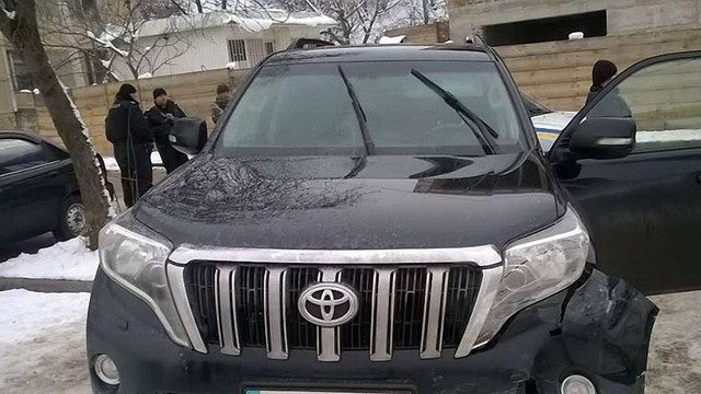 Львівські поліцейські впіймали злодія на краденому автомобілі