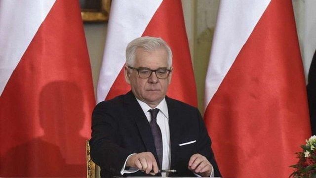 Міністр закордонних справ Польщі підтримав збереження санкцій проти Росії