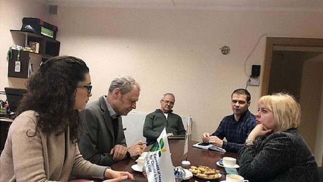 До Львова прибули німецькі експерти для реалізації проекту «Зелений район» у Рясному