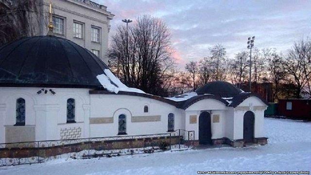Комісія Київради підтримала петицію про знесення каплиці УПЦ МП біля Десятинної церкви