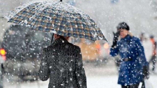 У вихідні синоптики прогнозують у Львові та області мокрий сніг