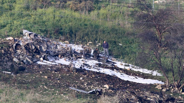 Сирійські військові збили ізраїльський винищувач F-16