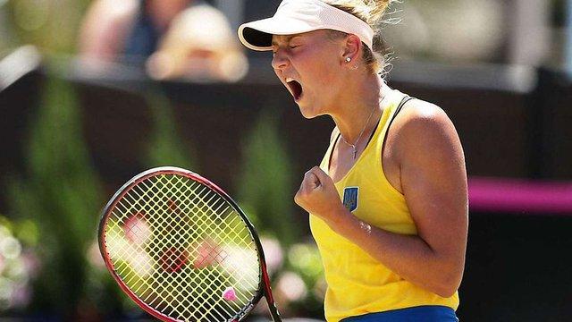 Збірна України здобула сенсаційну перемогу на Кубку Федерації тенісу